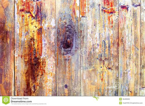 wood colored paint colored wood peeling paint stock photography image 35409262