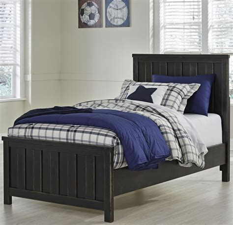 twin panel bed jaysom black twin panel bed b521 52 53 83 ashley