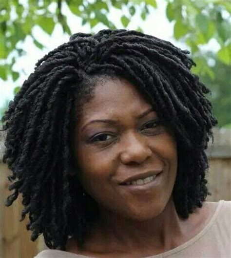 soft dreads hairstyle soft dread loc braid short hairstyle 2013