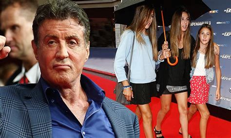Sylvester Stallones Plane Searched In Australia by Expendables 3 S Sylvester Stallone Brings Daughters With