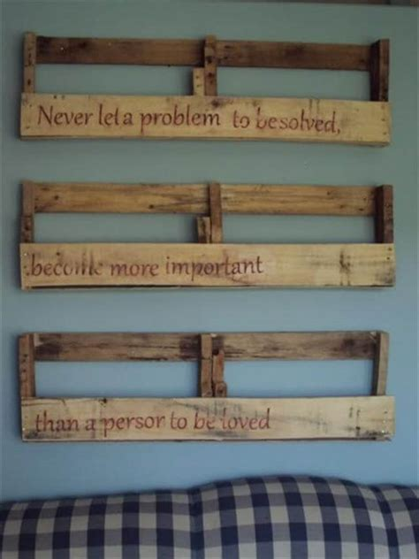 Colorful Kitchen Cabinets Ideas by 25 Diy Pallet Shelves For Storage Your Things 101 Pallets