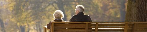 old couple on bench old couple on park bench the outcare foundation