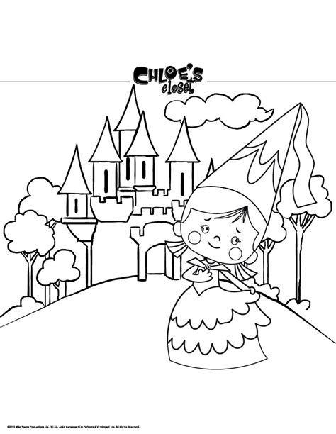 Castle Coloring Pages Bestofcoloring Com And The Castle Coloring Pages