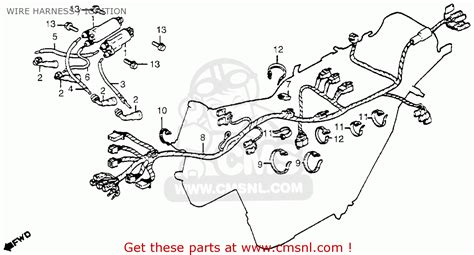 cb650 wiring diagram honda cb650 1979 usa wire harness ignition schematic partsfiche