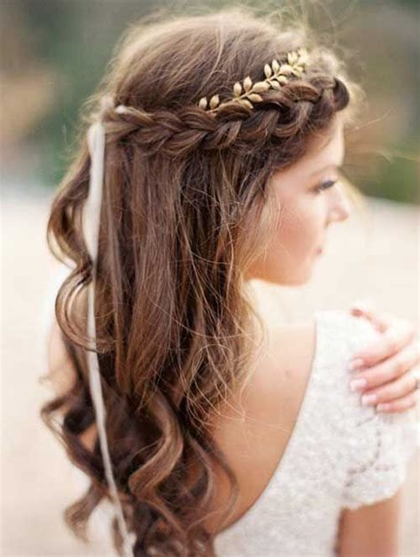 Easy Bridal Hairstyles For Hair by 10 Pretty Braided Hairstyles For Wedding Wedding Hair