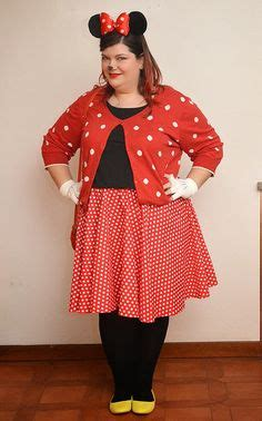 Circle Casual Tali plus size minnie mouse disney bounding by bgdisneybound on