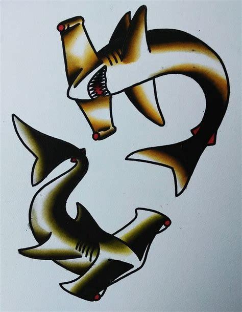 sailor jerry shark tattoo best 25 traditional shark ideas on