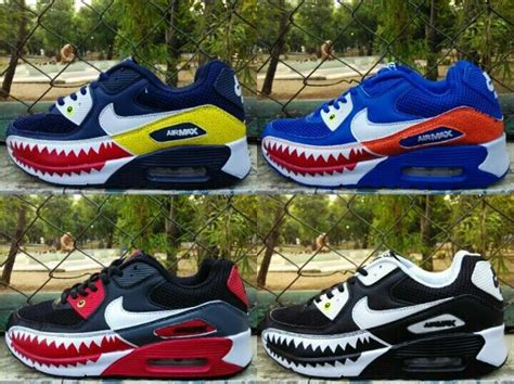 Nike Air Max 90 Piranha Custom jual nike air max 90 piranha custom di lapak eureka
