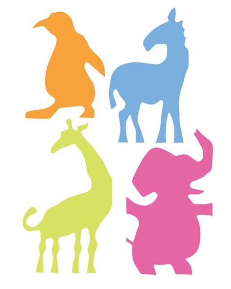noah 39 s ark animal cutouts