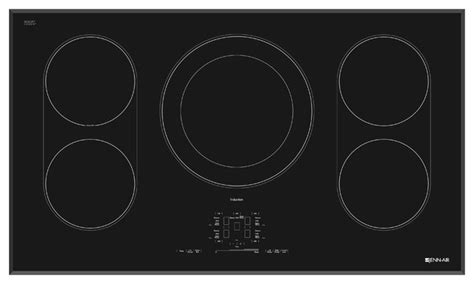 induction stove jenn air jenn air 36 quot induction cooktop black on black jic4536xb cooktops los angeles by