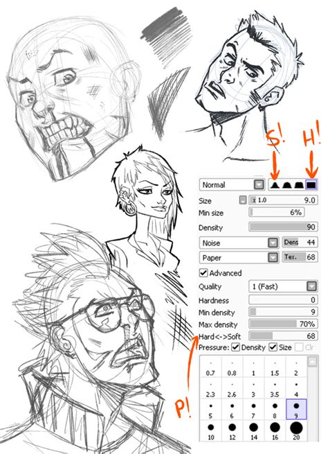 paint tool sai grunge paper pencil tool by sinistar1 deviantart on deviantart