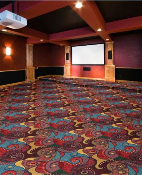 contrarian home theater carpet