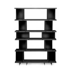 Bookshelf Systems Modular Modern Dark Brown Wooden Display Shelf With Rectangle