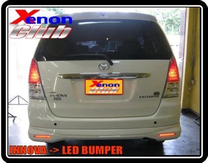 Led Bumper Innova ล กค า xenon customer led bumper by xenon club