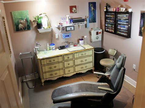 tattoo studio brooker s room at damask