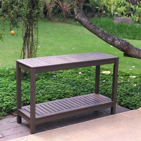 outdoor console table 25 best ideas about outdoor console table on