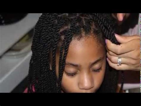 how to style scanty yarn twist natural hair style tutorial yarn twists youtube