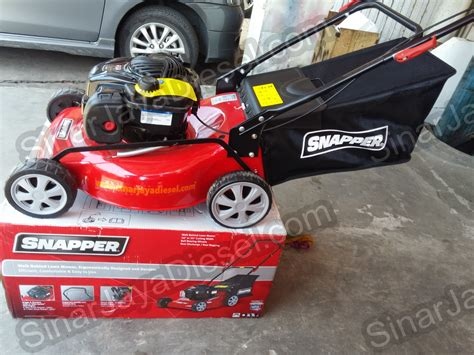 Mesin Potong Rumput Merk Pro Quip jual mesin potong rumput dorong snapper mpd18450 18 quot powered by briggs stratton original made
