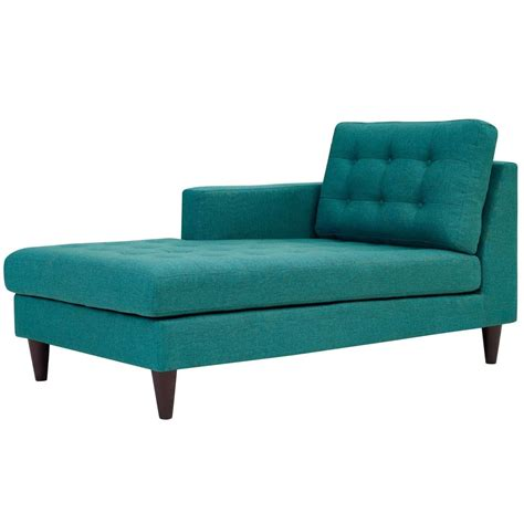 upholstered chaise lounge with arms modway empress left arm upholstered fabric chaise eei 2596