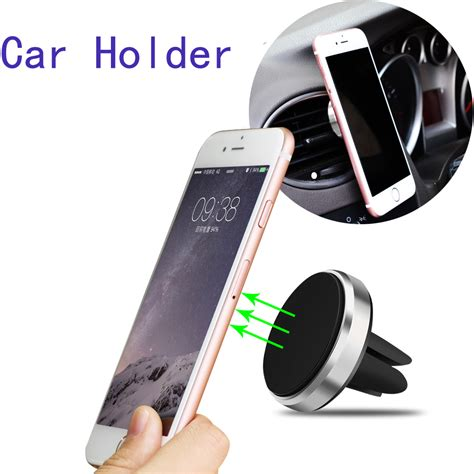 Car Holder Universal T1310 1 מוצר universal suporte celular car holder car stand mini air vent mount magnet magnetic phone