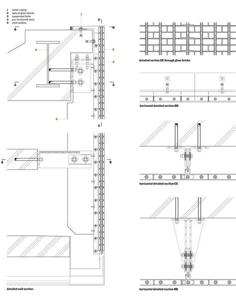 Program For Floor Plans Ii Optical Glass House By Hiroshi Nakamura Amp Nap Metalocus