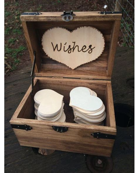 libro marriage chest wooden wedding wishes chest early american great rustic wedding guest book alternative http