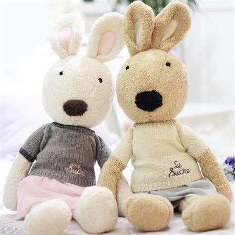 Le Sucre Plush Doll Big 50cm le sucre 60cm kawaii bunny rabbit plush toys high quality