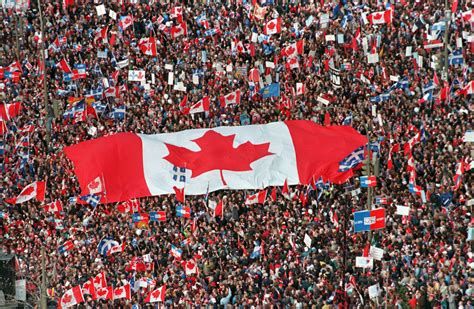 Opinions On Made In Canada - did the 1995 referendum kill separatism toronto