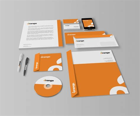mockup design software free download download office stationery mockup free psd at