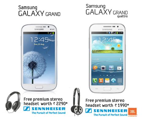 Headset Samsung Grand Duos samsung offers a free sennheiser headset with galaxy grand