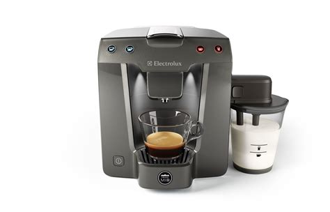 Coffee Maker Electrolux electrolux favola coffee machine added an innovative milk