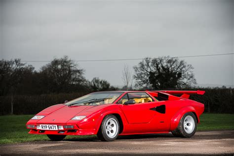 classic lamborghini countach record breaking lamborghini countach lp500s for sale at