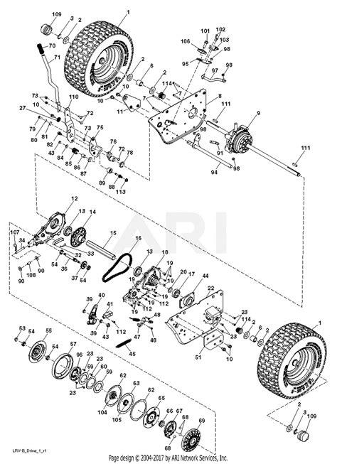 poulan pbhyt    parts diagram  drive
