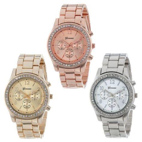 geneva quartz watches price mens stainless steel quartz
