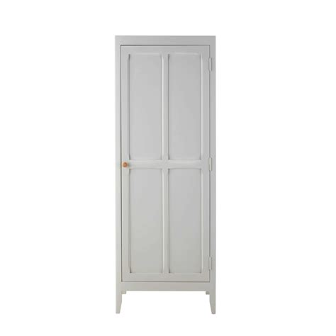 Grey Wood Wardrobe Grey Wooden Wardrobe L 65 Cm Sweet Maisons Du Monde