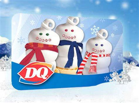 Dq Gift Card - dairy queen canada free dq cone with purchase of 10 gift card canadian freebies