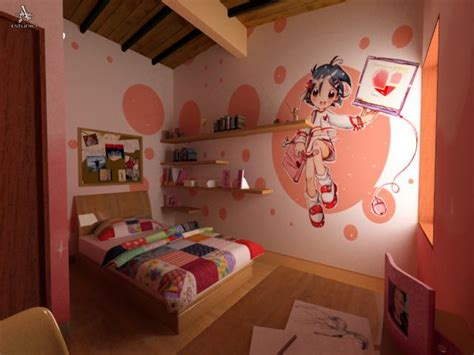 anime themed bedroom kawaii themed bedroom for teenage girl decorated with cute