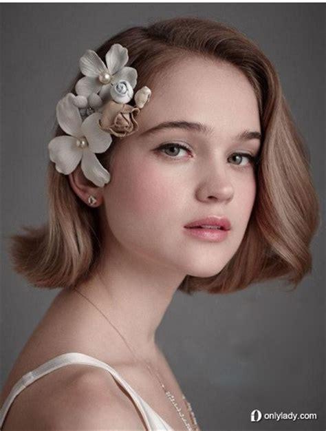 short hairstyles for engagement party 画像 結婚 かわいいウェディング 海外の花嫁ヘアスタイル naver まとめ
