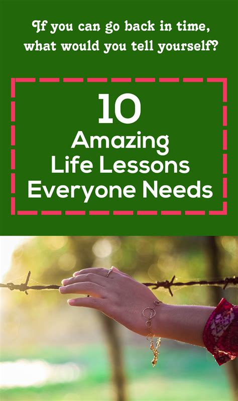 10 Lessons Everyone Needs To 10 amazing lessons everyone needs fitxl