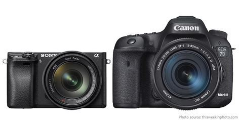 Interesting facts about DSLRs and mirrorless cameras
