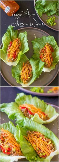 the simply vegan cookbook easy healthy and filling plant based recipes anyone can cook books vegan asian lettuce wraps recipe sweet sriracha sauce