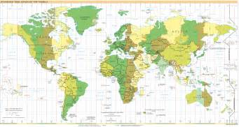 Timings Of World File Standard Time Zones Of The World 2005 Png