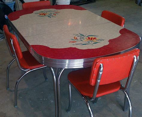 54 Of The Best Retro Kitchen Dining Tables Ever 50s Dining Table