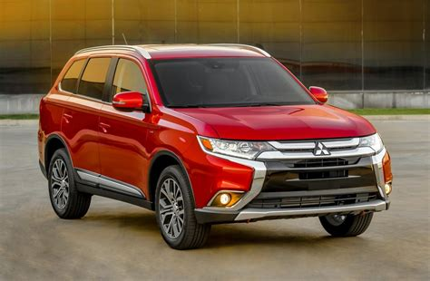 2016 Mitsubishi Outlander Suv Features And Details