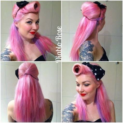everyday rockabilly hairstyles 36136 best images about beautiful hairdos on pinterest