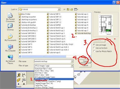 tutorial autocad untuk desain interior cara memasukan denah autocad kedalam program sketchup