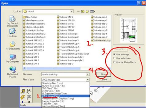tutorial sketchup autocad cara memasukan denah autocad kedalam program sketchup