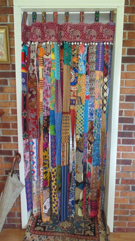 boho chic curtains 17 best ideas about door coverings on pinterest sliding