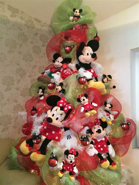 decoraci 243 n navide 241 a con tema mickey mouse dale detalles