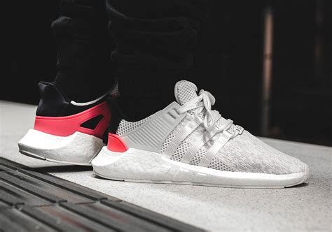 Adidas Eqt Support 93 17 Boost Turbo White 100 Original Sneakers where to buy adidas eqt support 93 17 white turbo sneakernews
